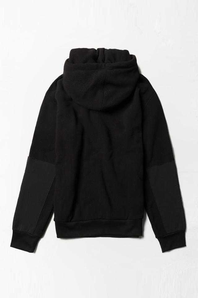 [남성] 폴리 로고 배색 긴소매 후드 티셔츠