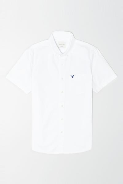 [남성] 코튼 베이직 반소매 셔츠