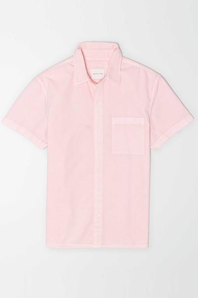 [남성] 코튼 레귤러핏 옥스포드 반소매 셔츠