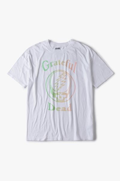 [여성] 코튼 오버사이즈 그레이드풀 데드 보이프렌드 티셔츠