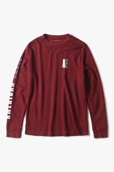 [남성] 면혼방 레귤러핏 그래픽 니트 티셔츠