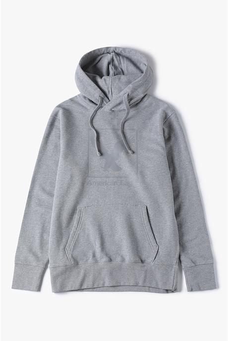 [남성] 코튼 레귤러핏 인터내셔널 로고 후드 티셔츠
