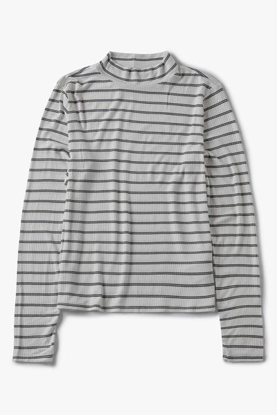 [여성] 레귤러핏 스트라이프 베이직 티셔츠