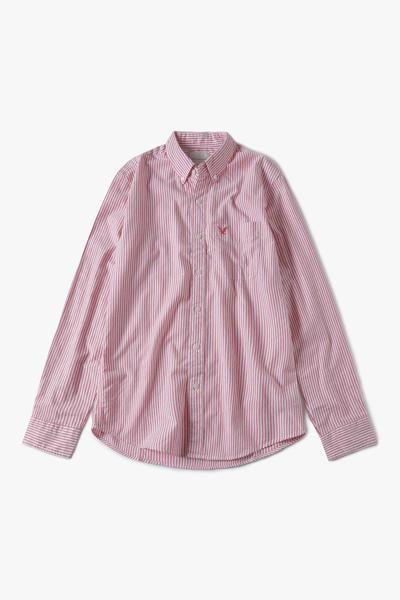 [남성] 코튼 스탠다드핏 뱅갈 스트라이프 옥스포드 셔츠