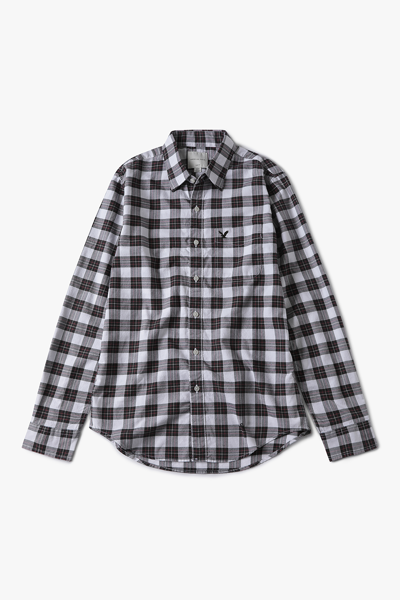 [남성] 옥스포드 레귤러핏 타탄체크 셔츠