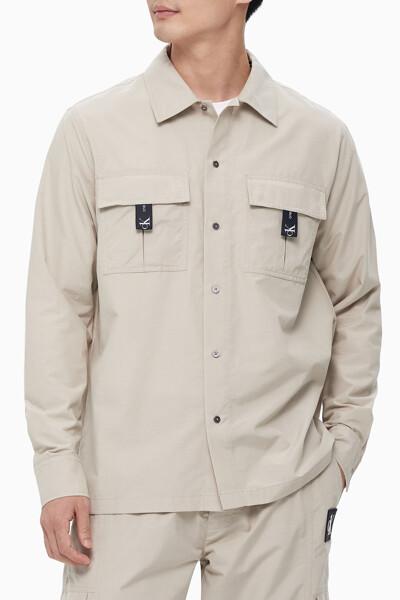 남녀공용 CK1 셔츠재킷 J400037PFT