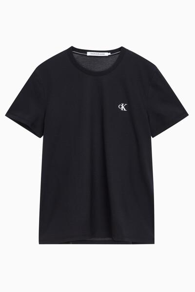 남성 씨케이 에센셜 슬림핏 반팔 티셔츠 J315065-BAE J315065BAE