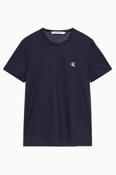 남성 씨케이 에센셜 슬림핏 반팔 티셔츠 J315065CHW