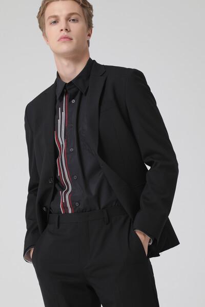 [남성] 스탠다드핏 베이직 수트 자켓