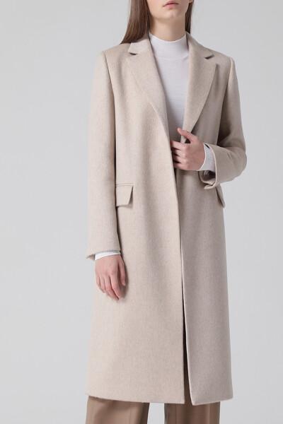[여성] 캐시미어혼방 베이직  코트