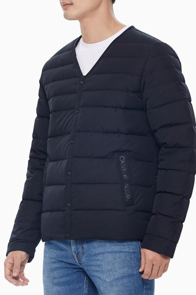 남성 브이넥 라이트 다운 재킷 J316330BEH