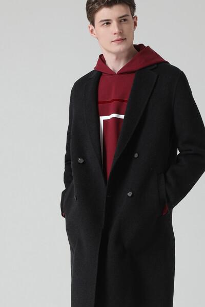 [남성] 캐시미어 혼방 더블 핸드메이드 코트