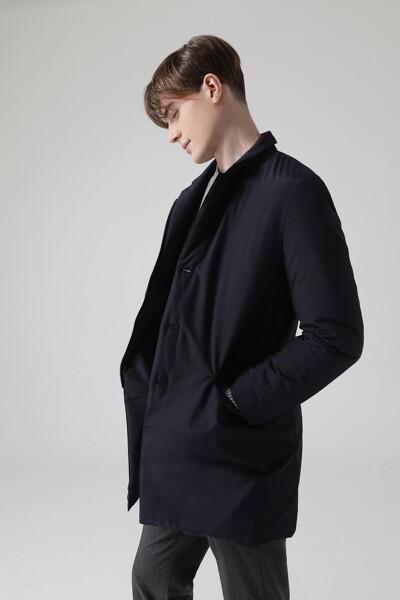 [남성] 솔리드  다운 코트