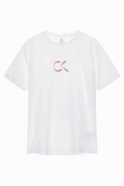 남성 패션 로고 반팔 티셔츠 4MS0K107-100 4MS0K107100