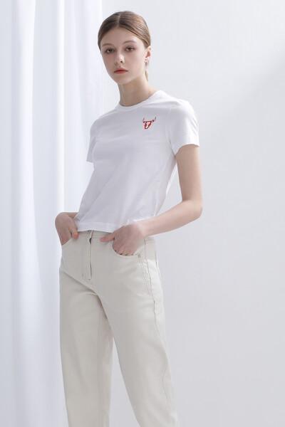 코튼 카우 반팔 티셔츠