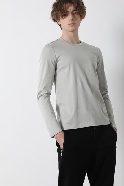 [남성] 코튼 심플 크루넥 티셔츠