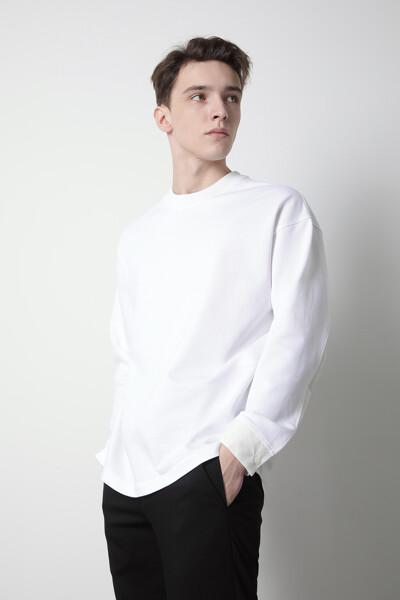 셔츠 믹스 심플 탑