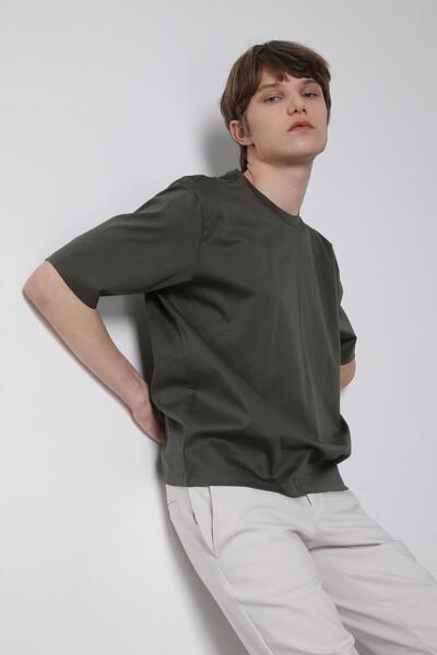 아쿠아집업 크루넥 티셔츠