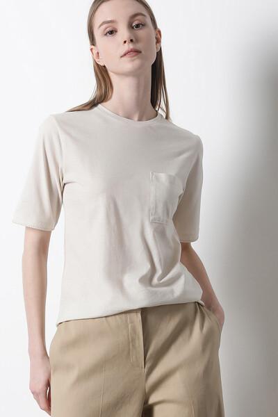 코튼 베이직 반팔 티셔츠
