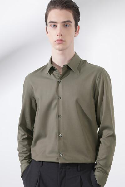 피치 텐셀 셔츠