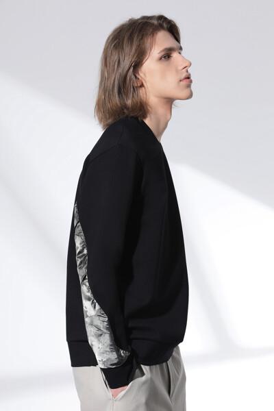컴팩트 밀라노 프린트 스웨트셔츠