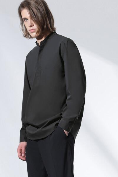 헨리넥 풀 오버 셔츠