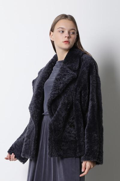 램스킨 하프 코트