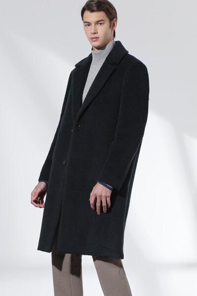 헤어리 알파카 코트