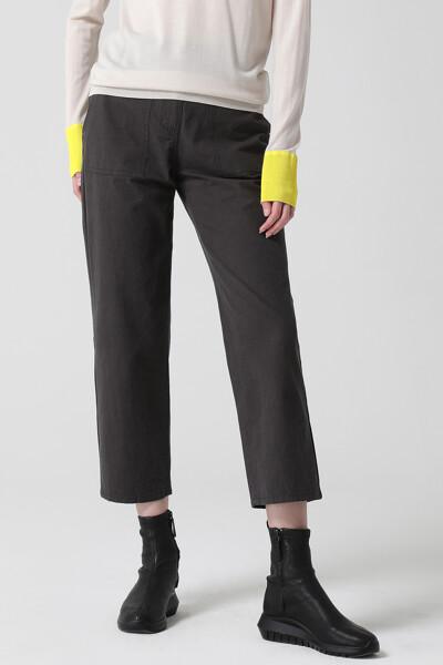 [여성] 코튼 스트레이트핏 포켓 팬츠