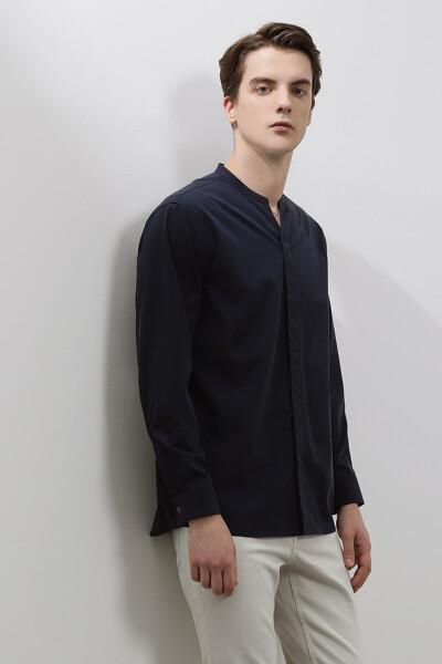 남성 루즈핏 베이직 셔츠