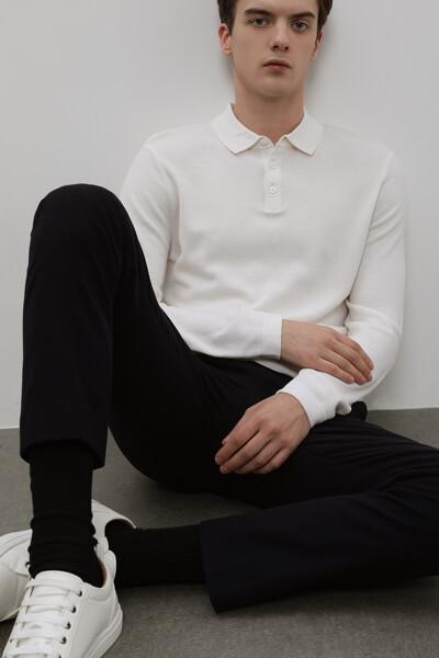 [남성] 울혼방 스트레이트핏 베이직 팬츠
