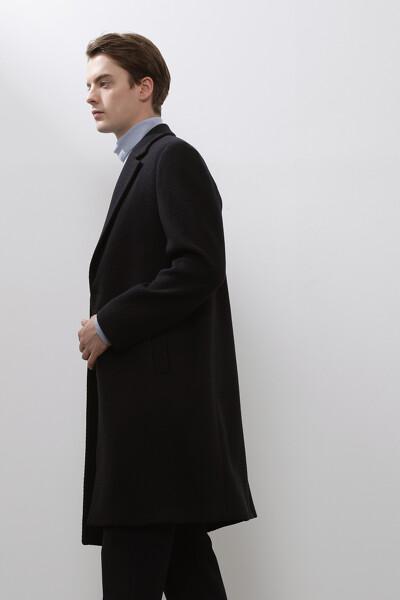 [남성] 캐시미어혼방 베이직  코트