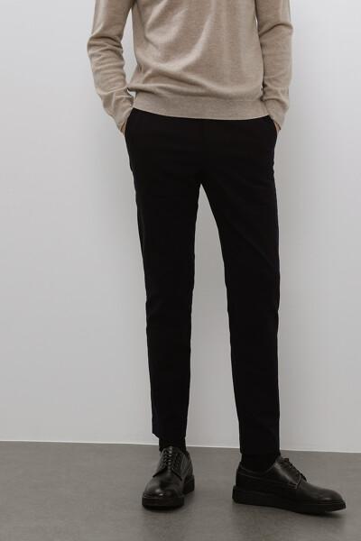 [남성] 면혼방 일자핏 솔리드 팬츠