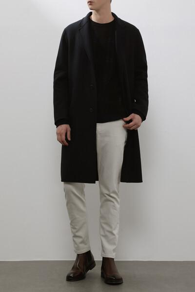 [남성] 울혼방 베이직  코트