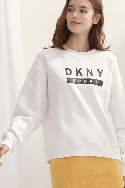 [여성] 코튼 크루넥  스웻 셔츠