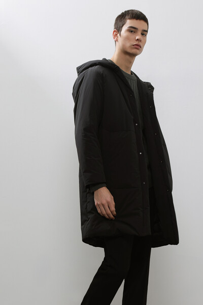 [남성] 솔리드 빅포켓 다운 코트