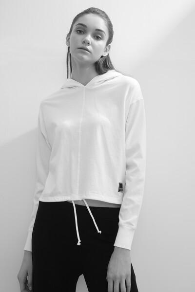 [여성] 코튼 톰킨스 후드 티셔츠