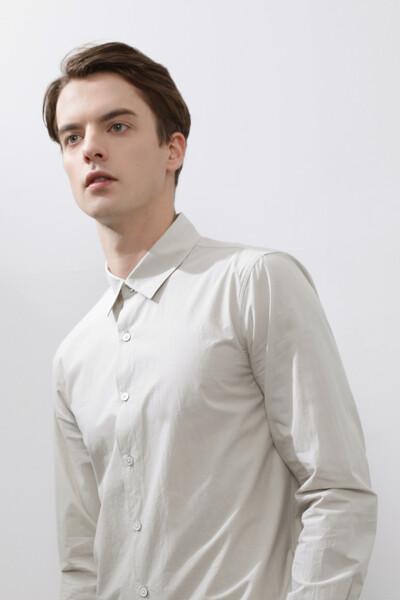 [남성] 코튼 스탠다드핏 베이직 셔츠