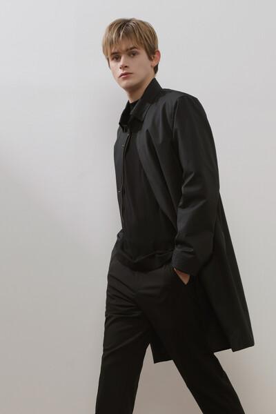 [남성] 베이직 슬릿 맥 코트