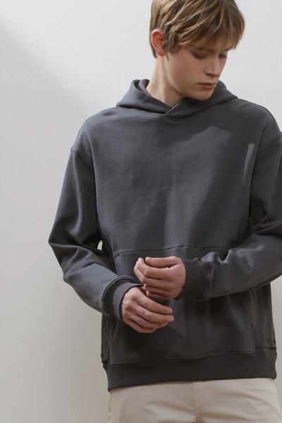 믹스 후드 티셔츠