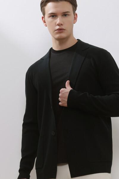 스웨터 포켓 자켓