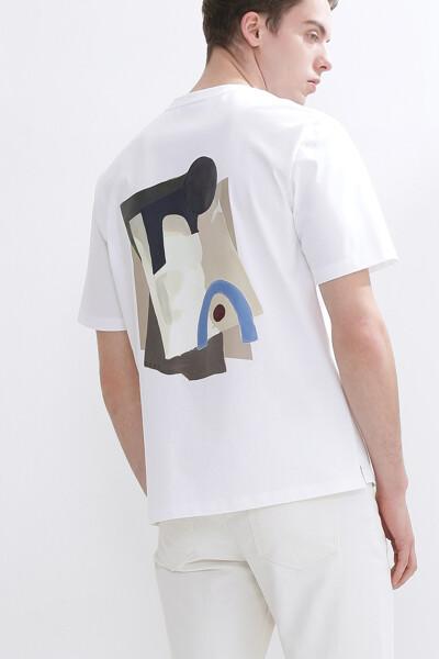 아트웍 숏 슬리브 티셔츠