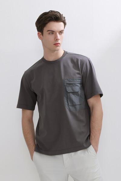 포켓 숏 슬리브 티셔츠