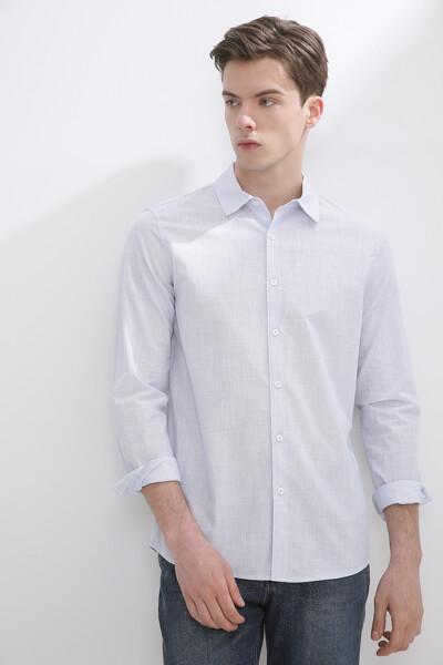 네추럴 스트라이프 셔츠