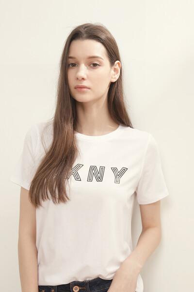 라이너 로고 저지 티셔츠