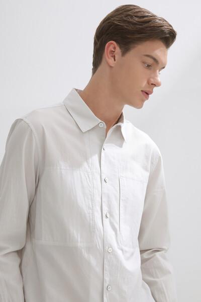 마이크로 시어서커 셔츠
