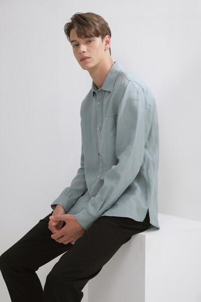 에센셜 린넨 셔츠