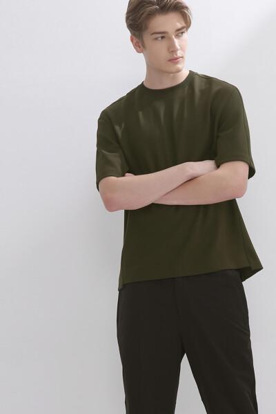 오버핏 크루넥 반팔 티셔츠