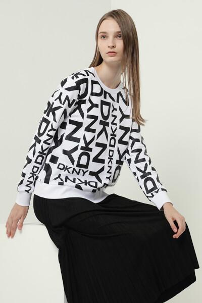 로고 프렌치 테리 스웨트셔츠