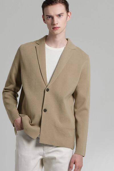 니트 스웨터 자켓
